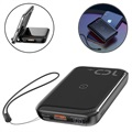 Baseus Mini S 2-in-1 Fast Power Bank & Wireless Charger - 10000mAh