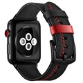 Apple Watch Series 5/4/3/2/1 Prošiveni Kožni Kaiš - 42mm, 44mm